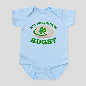 st. patrick's rugby Infant Bodysuit