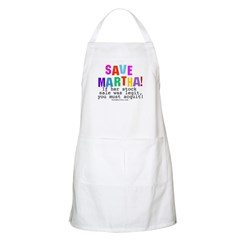 You Must Acquit Retro BBQ Apron