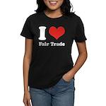 I Heart Fair Trade Women's Dark T-Shirt
