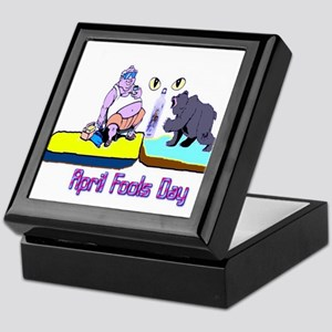April Fools Day Keepsake Box
