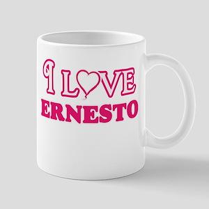 I Love Ernesto Mugs
