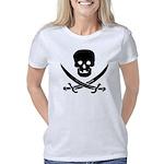 skullnswordsCrop Women's Classic T-Shirt