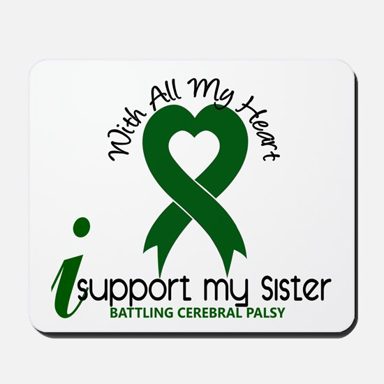 With All My Heart Cerebral Palsy Mousepad