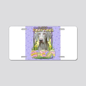 Easter Egg Cookies - Weimie Aluminum License Plate