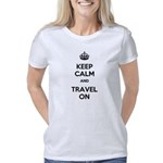 Keep Calm and Travel On Women's Classic T-Shirt
