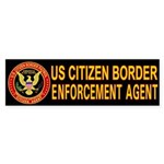 Border Patrol - Bumper Sticker
