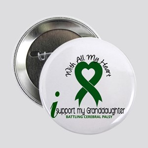 """With All My Heart Cerebral Palsy 2.25"""" Button"""