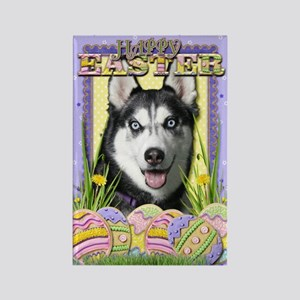 Easter Egg Cookies - Husky Rectangle Magnet