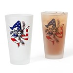Sicilian American Drinking Glass