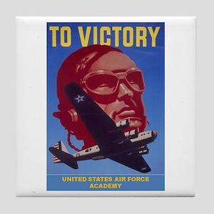 To Victory USAF Tile Coaster