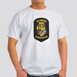 Illinois SP K9 Ash Grey T-Shirt