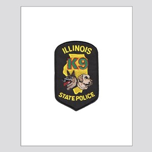 Illinois SP K9 Small Poster