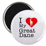 I Love My Great Dane 2.25