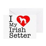 I Love My Great Dane Greeting Cards (Pk of 10)