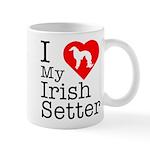 I Love My Irish Setter Mug