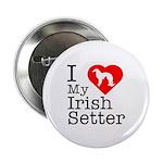 I Love My Irish Setter 2.25