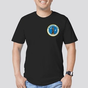 Air Guard Men's Fitted T-Shirt (dark)