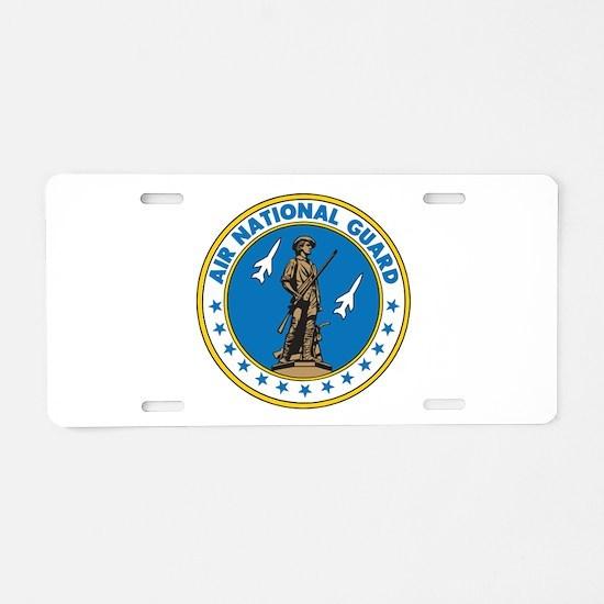 Air Guard Aluminum License Plate
