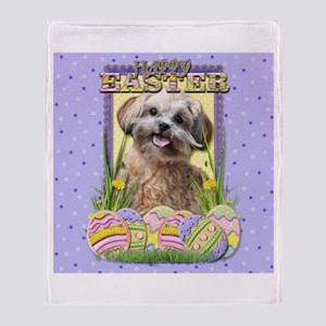 Easter Egg Cookies - ShihPoo Throw Blanket