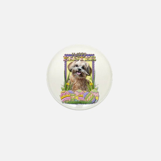 Easter Egg Cookies - ShihPoo Mini Button