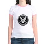 Border Patrol, Cit MX - Jr. Ringer T-Shirt