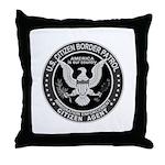 Border Patrol, Cit MX -  Throw Pillow