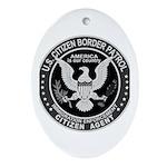 Border Patrol, Cit MX - Oval Ornament