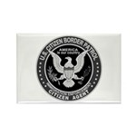 Border Patrol, Cit MX - Rectangle Magnet (100 pac