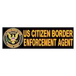 Border Patrol, Cit MX - Bumper Sticker