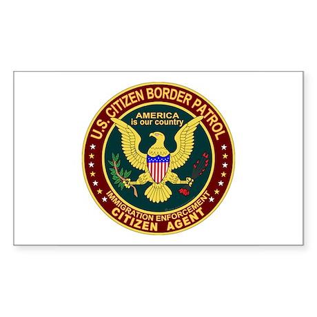 Border Patrol, Cit MX - Rectangle Sticker