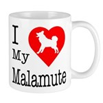 I Love My Malamute Mug