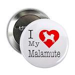 I Love My Malamute 2.25