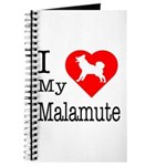 I Love My Malamute Journal