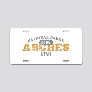 Arches National Park Utah Aluminum License Plate
