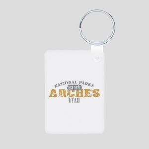 Arches National Park Utah Aluminum Photo Keychain