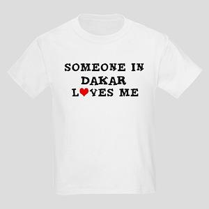 Someone in Dakar Kids T-Shirt