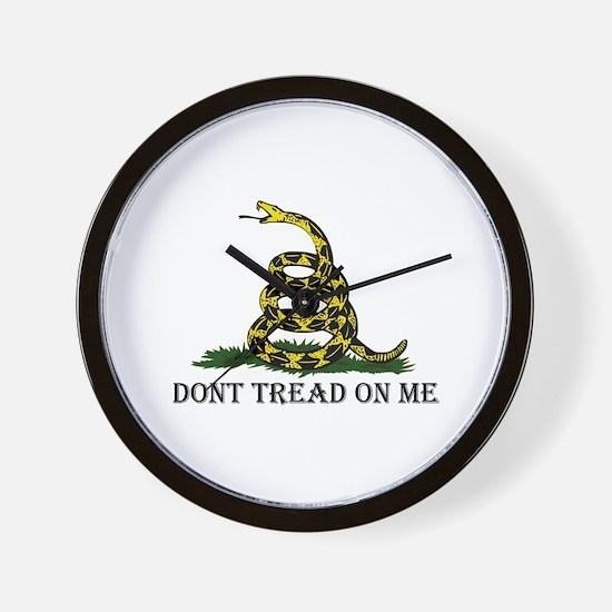 Don't Tread On Me Wall Clock