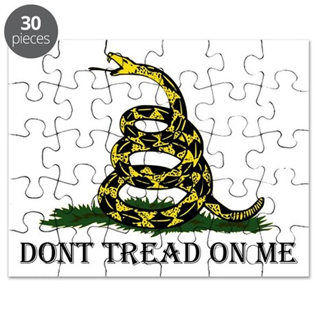Don't Tread On Me Puzzle