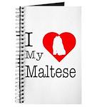 I Love My Maltese Journal