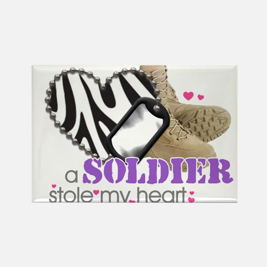 Cute Military brat Rectangle Magnet