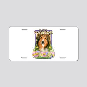 Easter Egg Cookies - Sheltie Aluminum License Plat