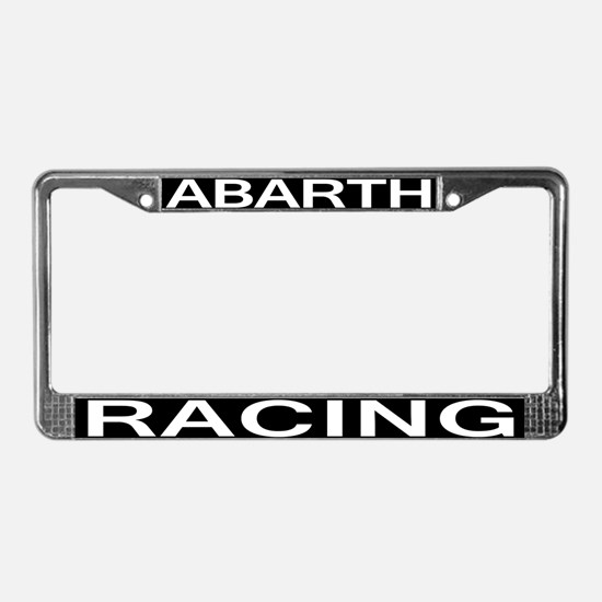 ABARTH RACING License Plate Frame
