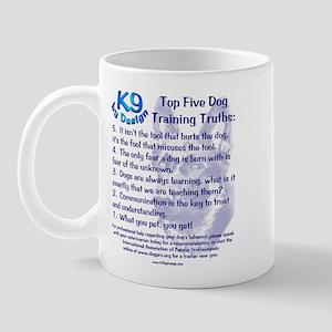 Top 5 Dog Training Truths Mug
