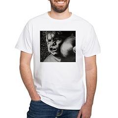 Take It Like a Man White T-Shirt