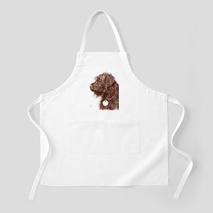 Chocolate Labradoodle 4 Apron