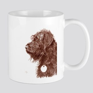 Chocolate Labradoodle 4 Mug