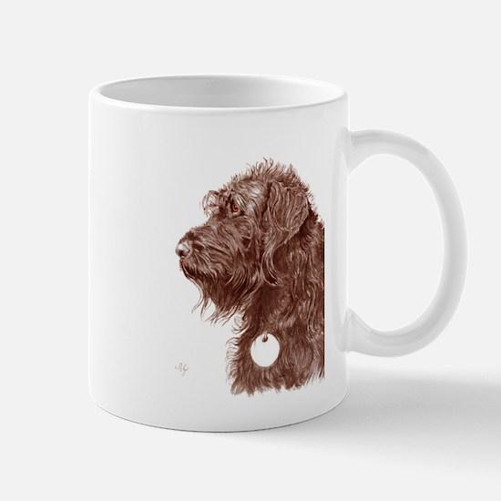 Chocolate Labradoodle 4 Mug
