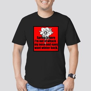 Spring is here Men's Fitted T-Shirt (dark)