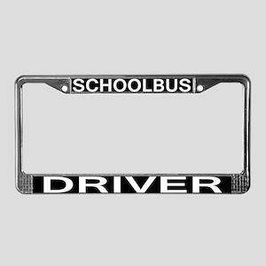 SCHOOLBUS DRIVER License Plate Frame