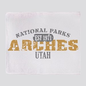 Arches National Park Utah Throw Blanket